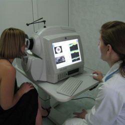 Томография сетчатки глаза